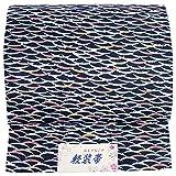 (キョウエツ) KYOETSU 軽装帯 ワンタッチ 作り帯 つけ帯 仕立て上がり (紺A)