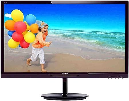 """Philips E-line 244E5QHAD LED-moniteur 60,7 cm (23.8"""")(HDMI, VGA, 2ms Reaktionszeit) noir"""