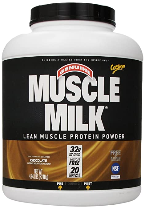 CytoSport Muscle Milk Chocolate, 1er Pack (1 x 2.24 kg)