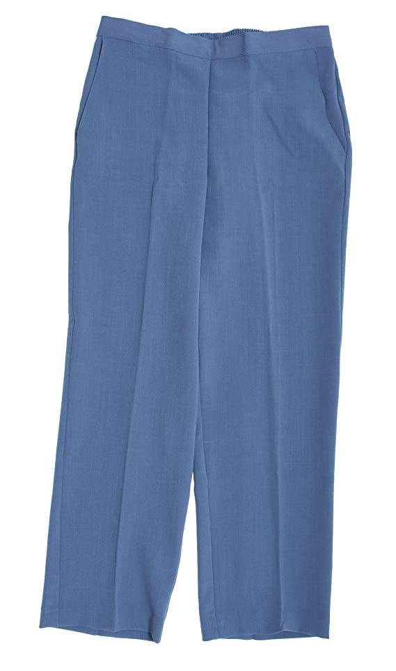 Lake Como Proportioned Medium Pant in Silver By Alfred Dunner