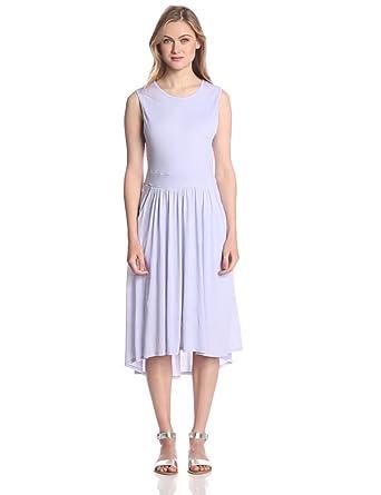Three Dots Women's Shell Tank Dress with Pockets, Isis, Small