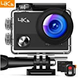 APEMAN Action Camera 4K WiFi 16MP Waterproof Underwater Camera Ultra Full HD Sport Cam 30M Diving with 2