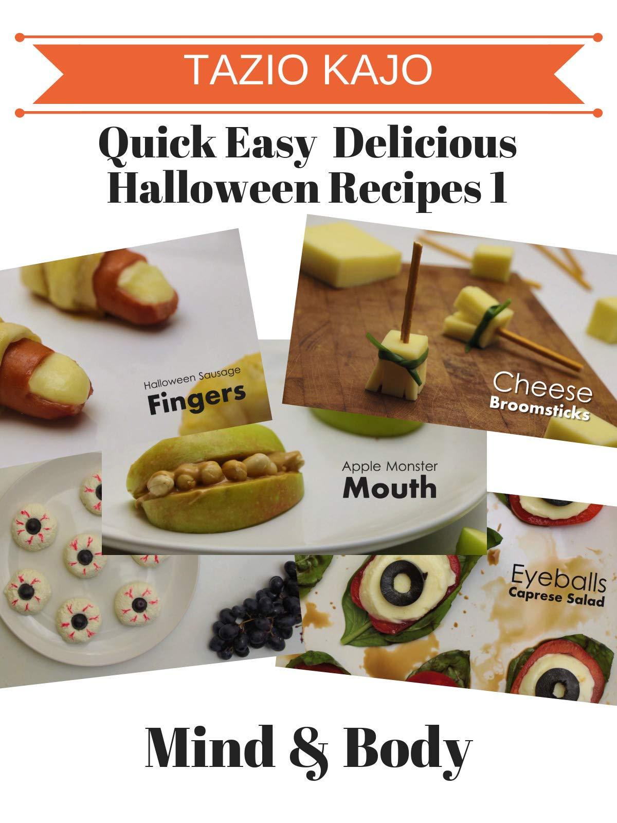 Quick Easy & Delicious Halloween Recipes 1