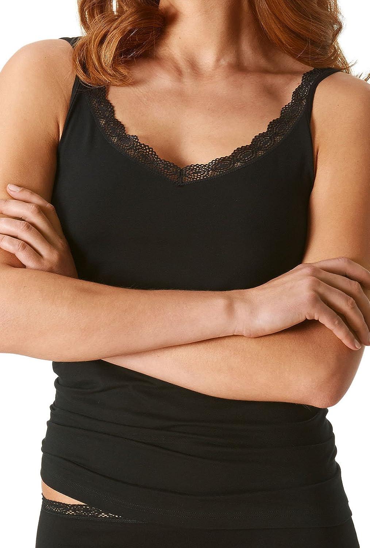 "Mey Basics ""Natural Lace"" Damen Tops breiter Träger 25811 günstig bestellen"