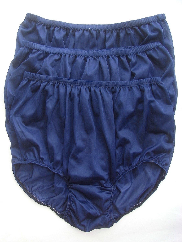 Höschen Unterwäsche Großhandel dunkelblau Los 3 pcs LPKDB Lots 3 pcs Wholesale Panties Nylon online bestellen