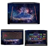 decalrus Protective Decal Space Skin Sticker for Acer Predator Helios 300 G3-571 (15.6