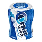 Orbit White Peppermint Sugarfree Chewing Gum, 40 count (Pack of 4) (Tamaño: Pack of 4)