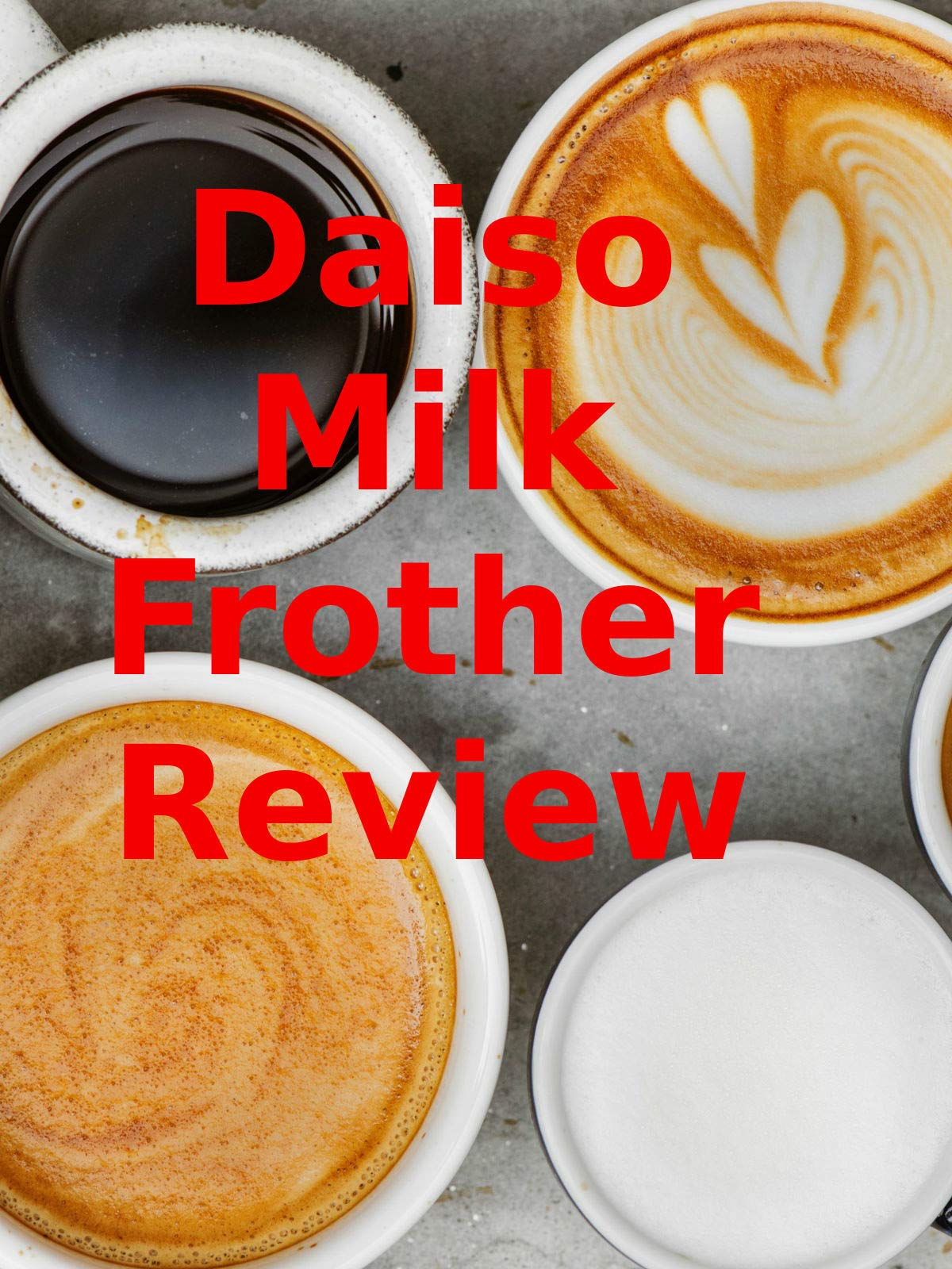 Review: Daiso Milk Frother Review on Amazon Prime Video UK