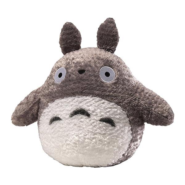 GUND Fluffy Totoro Stuffed Animal Plush in Gray, 13 (Color: Gray, White, Black, Tamaño: 13)