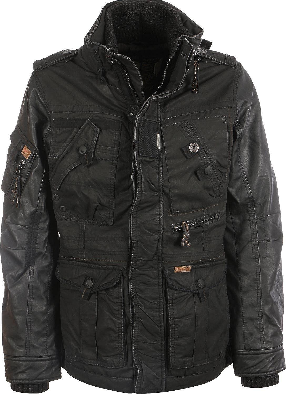 Khujo TOMBOY MIX Fake Leather Herren Jacke Herbst Winter 2014/15 online bestellen