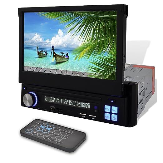 """Autoradio Écran Lcd Mp3 Mp5 1 Din Lecteur Sd Bluetooth 7"""""""