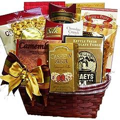 Snack Lovers Gourmet Treats Gift Basket