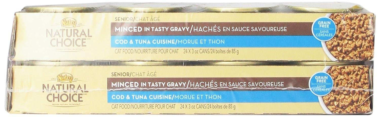 NATURAL CHOICE Senior Minced Cod and Tuna Cuisine - 3 oz. (85 g)