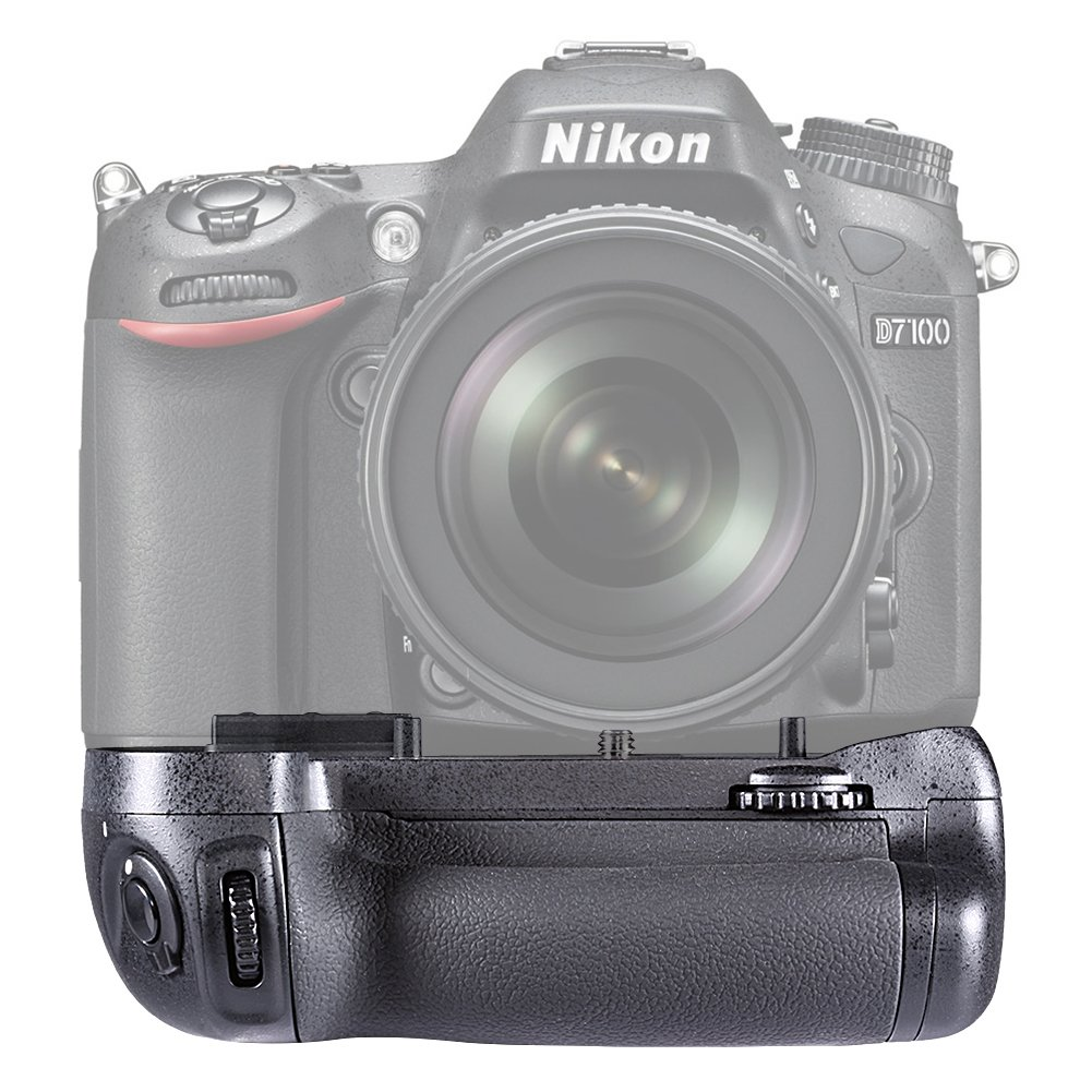 Neewer® Multi Power Battery Grip Vertical Empuñadura de alimentación para Nikon D7100 D7200 reemplazo de MB-D15  Electrónica revisión y más información