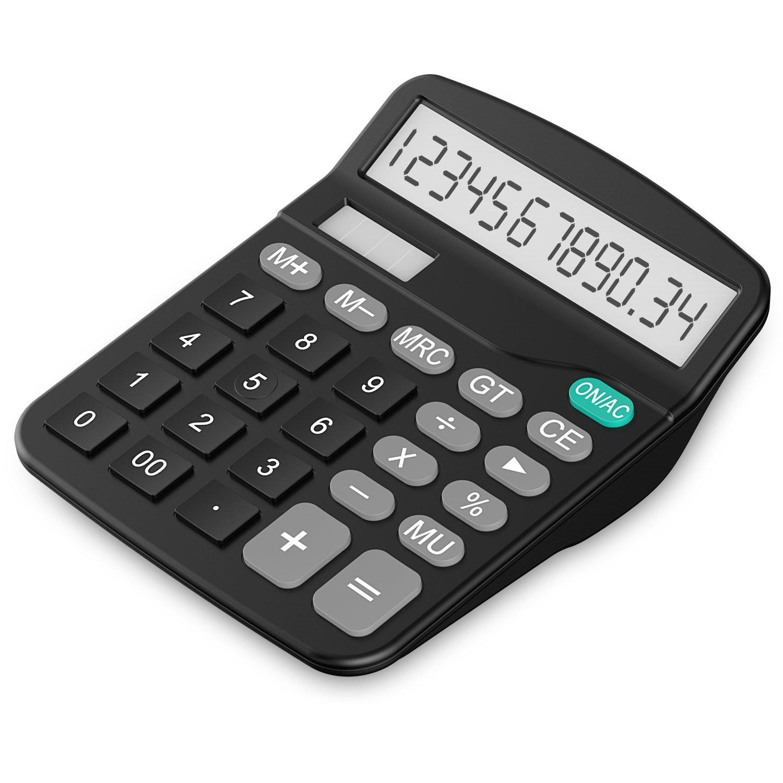 Calculator, Helect H1001 Standard Function Desktop Calculator