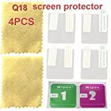 Q18 smart watch screen protector with 4PCS in one pack