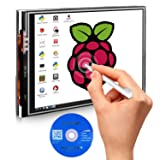 for Raspberry Pi 3B+ TFT LCD Display, kuman 3.5 inch 480x320 TFT Touch Screen Monitor for Raspberry Pi Model B B+ A+ A SPI Interface with Touch Pen SC06 (Color: raspberry pi screen, Tamaño: 3.5