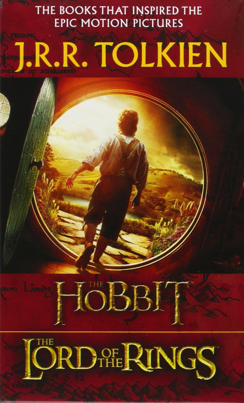 Buy Jrr Tolkien 4book Boxed Set: The Hobbit And The Lord Of The Rings  (movie Tiein): The Hobbit, The Fellowship Of The Ring, The Two Towers,