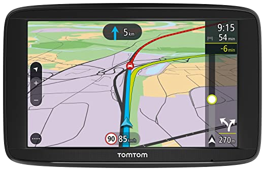 TomTom 1AP6,002,01 Voie 62 Navigation Par Satellite Noir