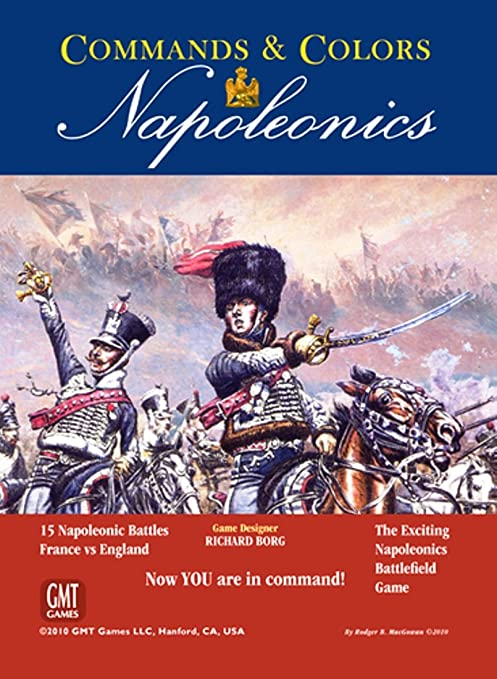 Gmt Games - 331461 - Command And Coulours' - Napoleonics - Jeu De Société