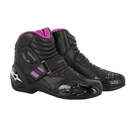 Alpinestars - Demi-bottes - STELLA S-MX 1.1 - Pointure : 39 - Couleur : Black/Fuchsia