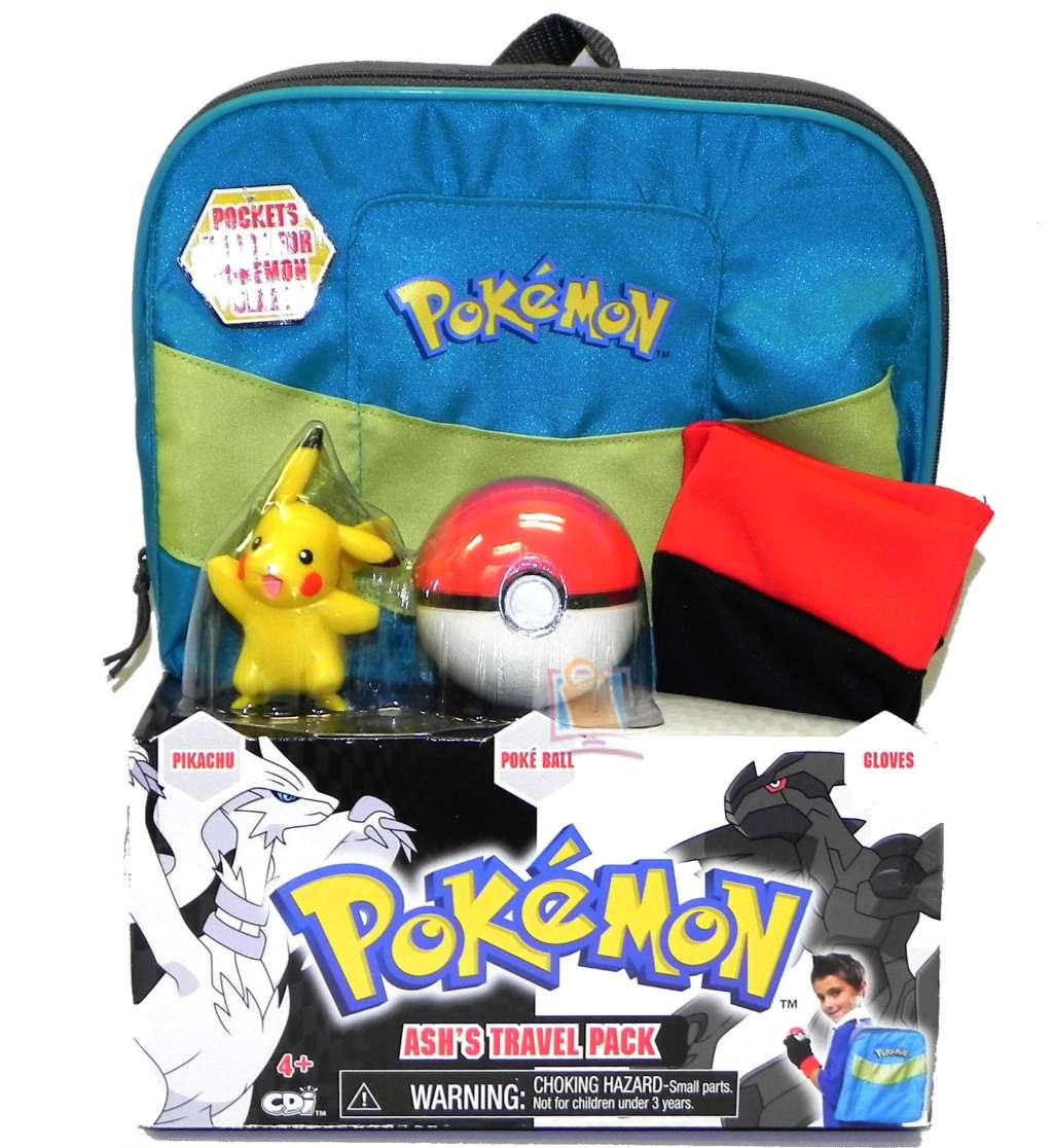 Pokemon Black White Ashs Travel Pack Costume