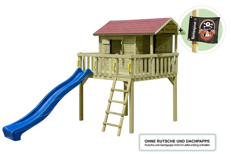 Gartenpirat Kinderspielhaus Stelzenhaus Maxi Aus Holz Gunstig Bestellen