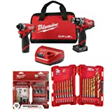 Milwaukee Electric Tools Super Kit 2598-22+48-32-4006+48-89-4631 (Color: 2598-22+48-32-4006+48-89-4631)