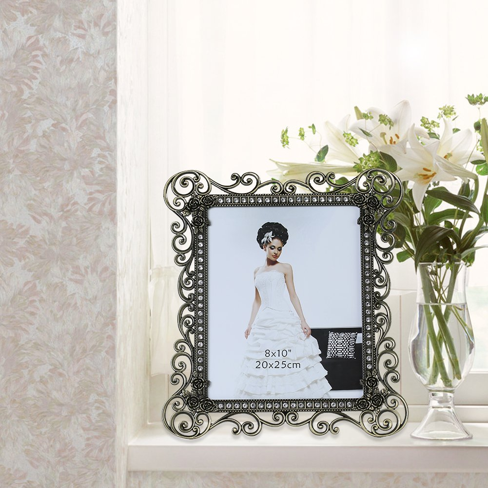 Gift Garden 8 by10-inch Vintage Picture Frame for 8x10 Photo 3