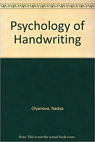 Psychology of Handwriting