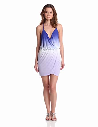 Young Fabulous & Broke Women's Rory Dress, Purple Ombre, X-Small