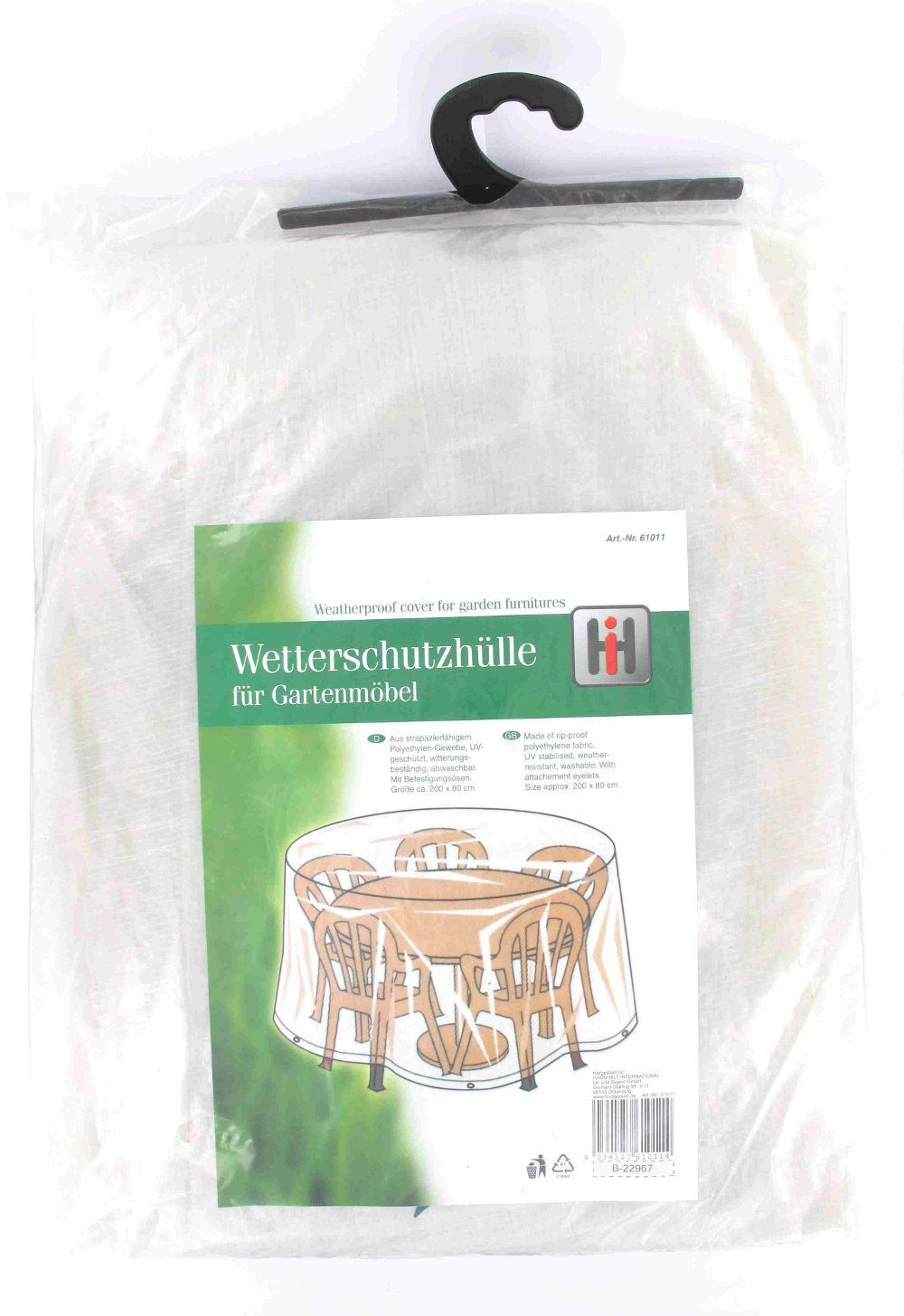 Wetterschutzhülle für Gartenmöbel Tisch kaufen