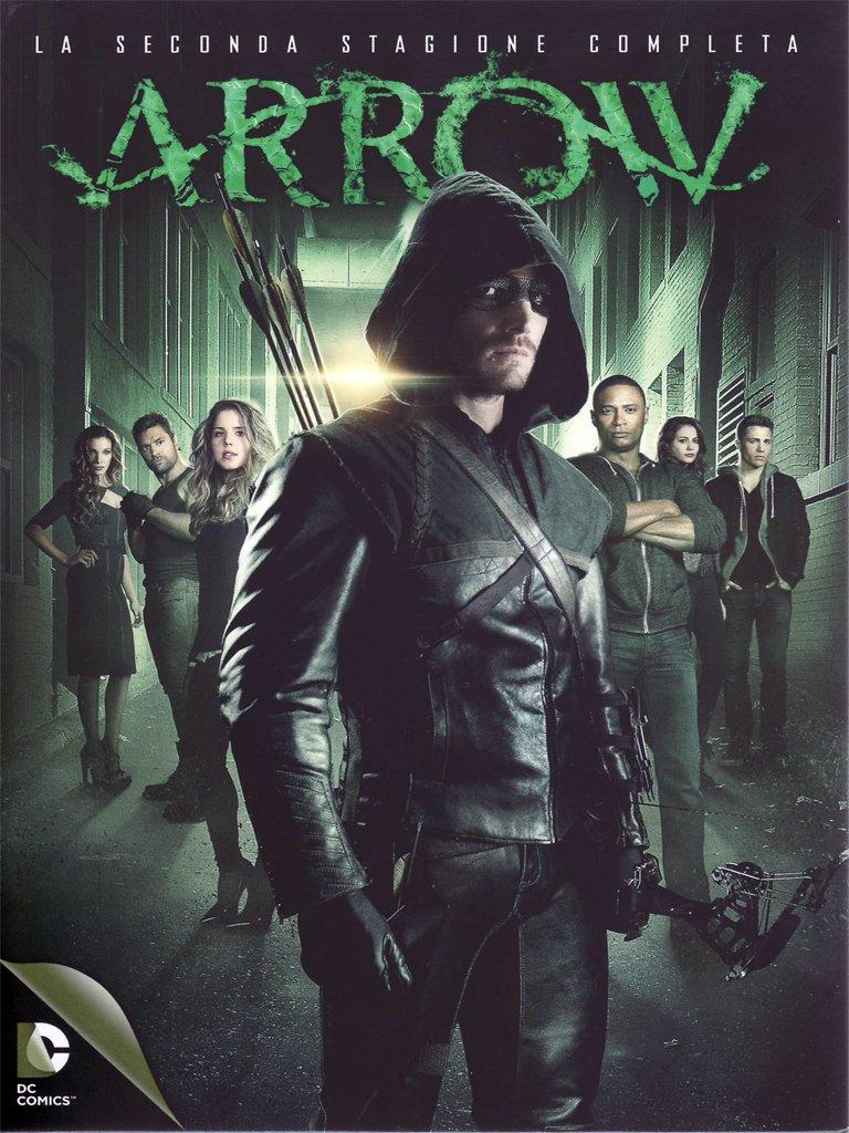 Arrow - Stagione 02 (5 Dvd) DVD 9 COPIA 1:1 ITA-FRE-SPA-ENG  DDN