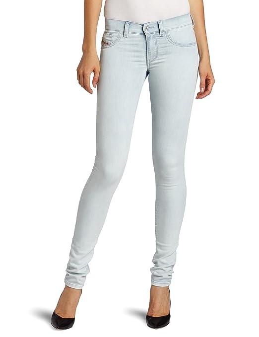 海淘迪赛牛仔裤:Diesel 迪赛 0660H 女士修身牛仔裤