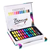 Bianyo Watercolor Set -36 Vibrant Colors - Watercolor Paper- Brush-Palette for Kids Adults Painting, Coloring, Gift Travel Case (Color: 36 Colors)