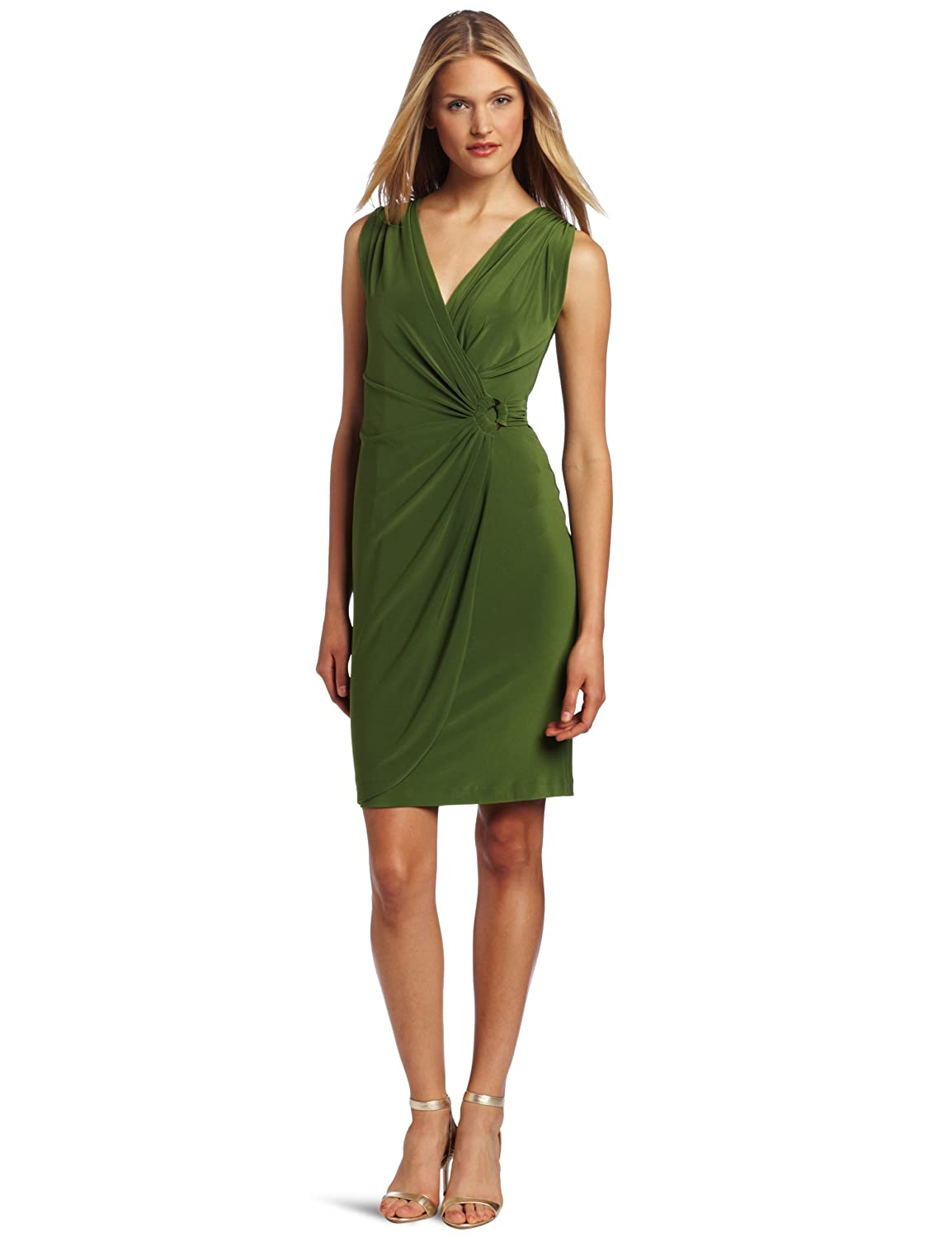 D-shopz: Jones New York Women's Grecian Wrap Ring Dress