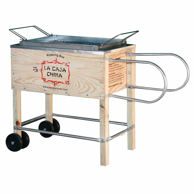 La Caja China Kistensau #3 Roasting Box Kiste Schwein BBQ Grill günstig online kaufen