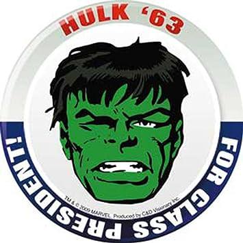Amazon.com: Licenses Products Marvel Comics Retro Hulk Pre Sticker ...