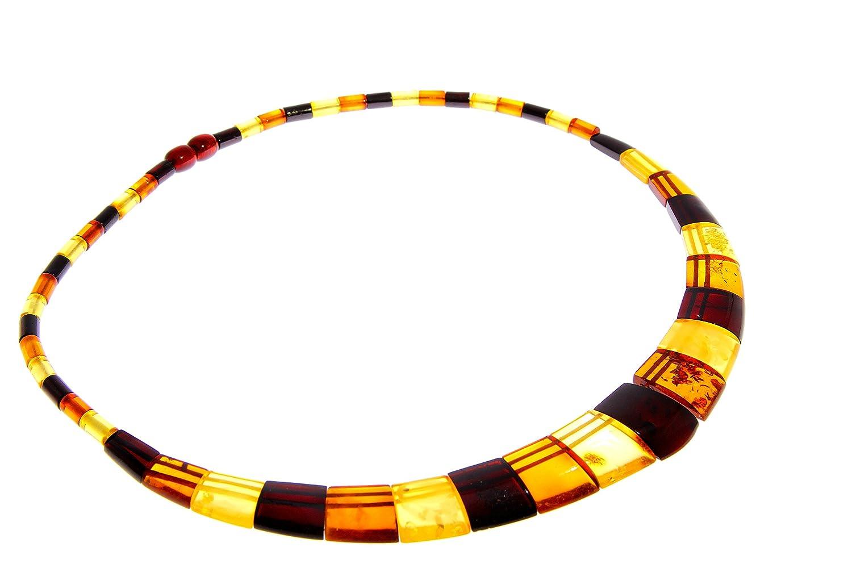 SilverAmber - Damen - Echte Baltischen Bernstein Halskette -NE0153