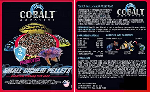 Cichlid Fish Food Pellets Cichlid Fish Food Pellets