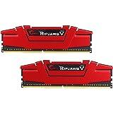 G.SKILL 8GB (2 x 4GB) Ripjaws V Series DDR4 PC4-24000 3000MHz Desktop Memory Model F4-3000C15D-8GVRB
