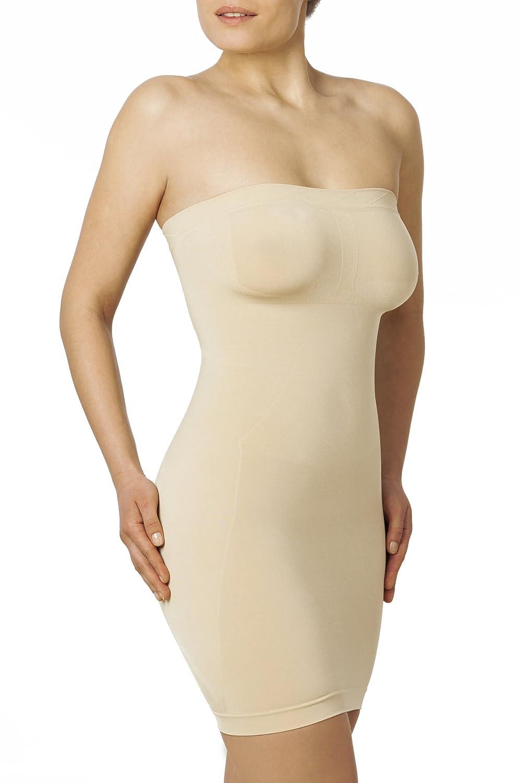 Sleex Figurformendes Miederkleid - Traegerlos