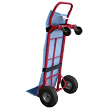 "Vestil QPC-HT Moving Pad with Velcro Straps for Hand Truck, 16"" Width, 55"" Height"