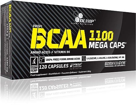 Olimp BCAA Mega Caps 2 x 120 Kapseln