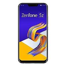 ASUS ZenFone 5Z 【日本正規代理店品】 6.2インチ / SIMフリースマートフォン/シャイニーブラック (6GB/128GB/3,300mAh) ZS620KL-BK128S6/A