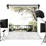 Kate 5x7ft/1.5x2.2m Wedding Photography Backdrops White Flowers Background Natural Scenery Bridal Shower Photo Studio Props (Color: A6942, Tamaño: 5x7ft)