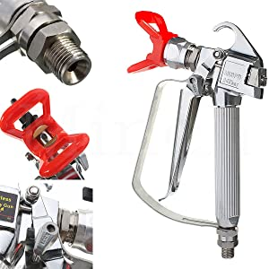 Airless Paint Spray Gun With Nozzle Guard for Pump Sprayer 3600PSI High Pressure Spray Gun