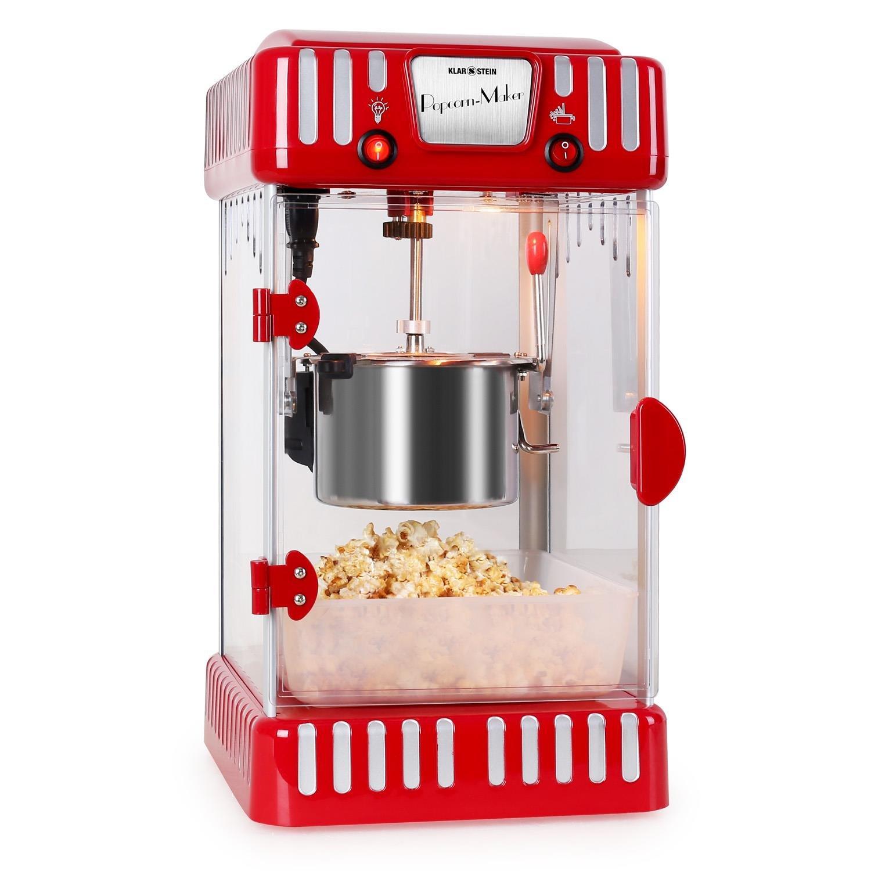 Klarstein Volcano Retro-Popcornmaker Popcornmaschine