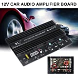 12V 1000W Powerful Bass Subwoofer 105dBA Mono Car Audio High Power Amplifier Amp Board Thermal Overload Protect Powerful Bass
