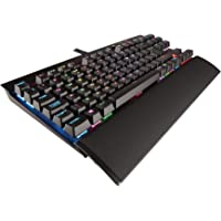 Corsair K65 LUX Cherry MX Red Performance Multi-Colour RGB Backlit Mechanical Gaming Keyboard (Black)